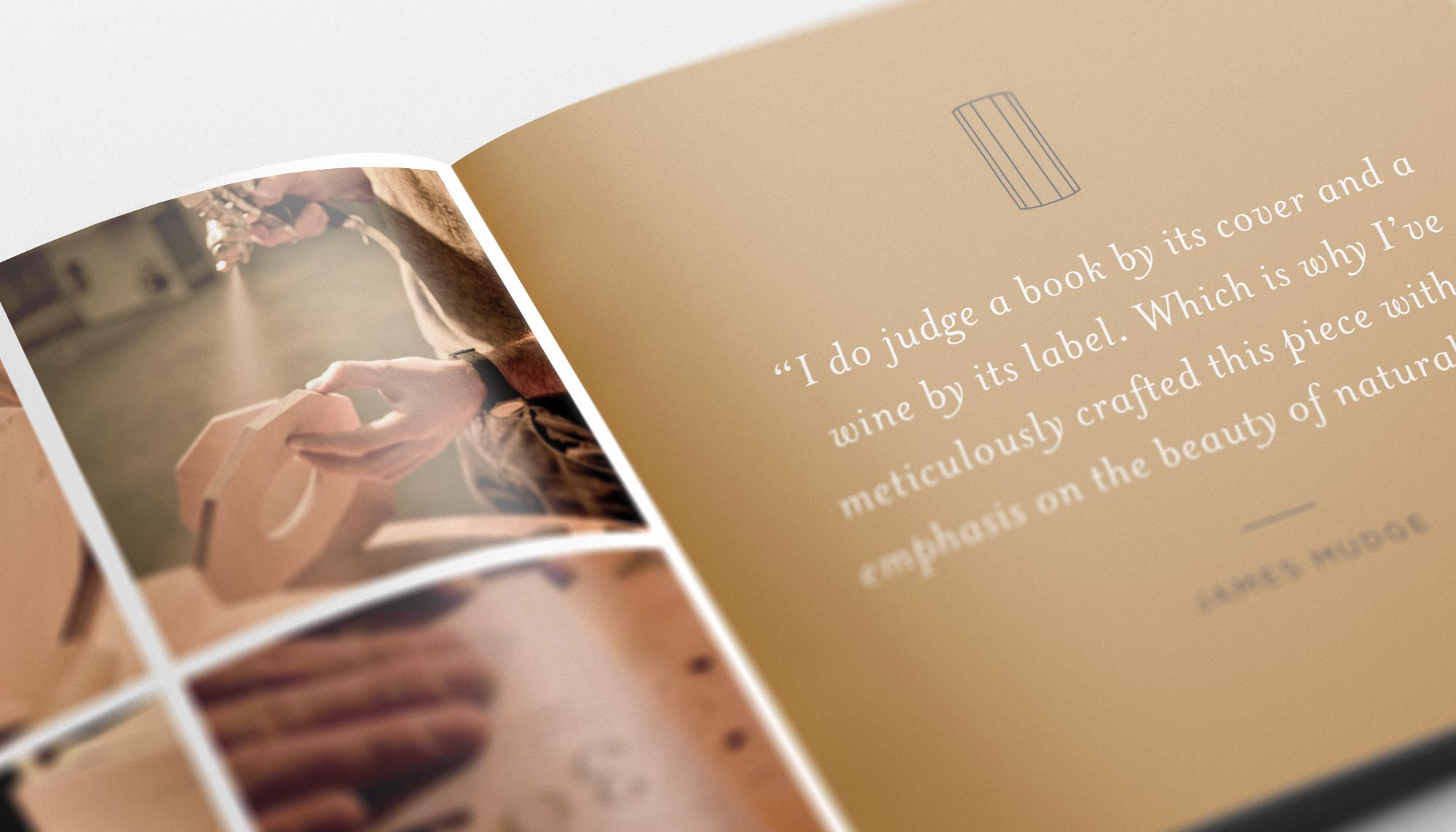 Aura Booklet Close Up