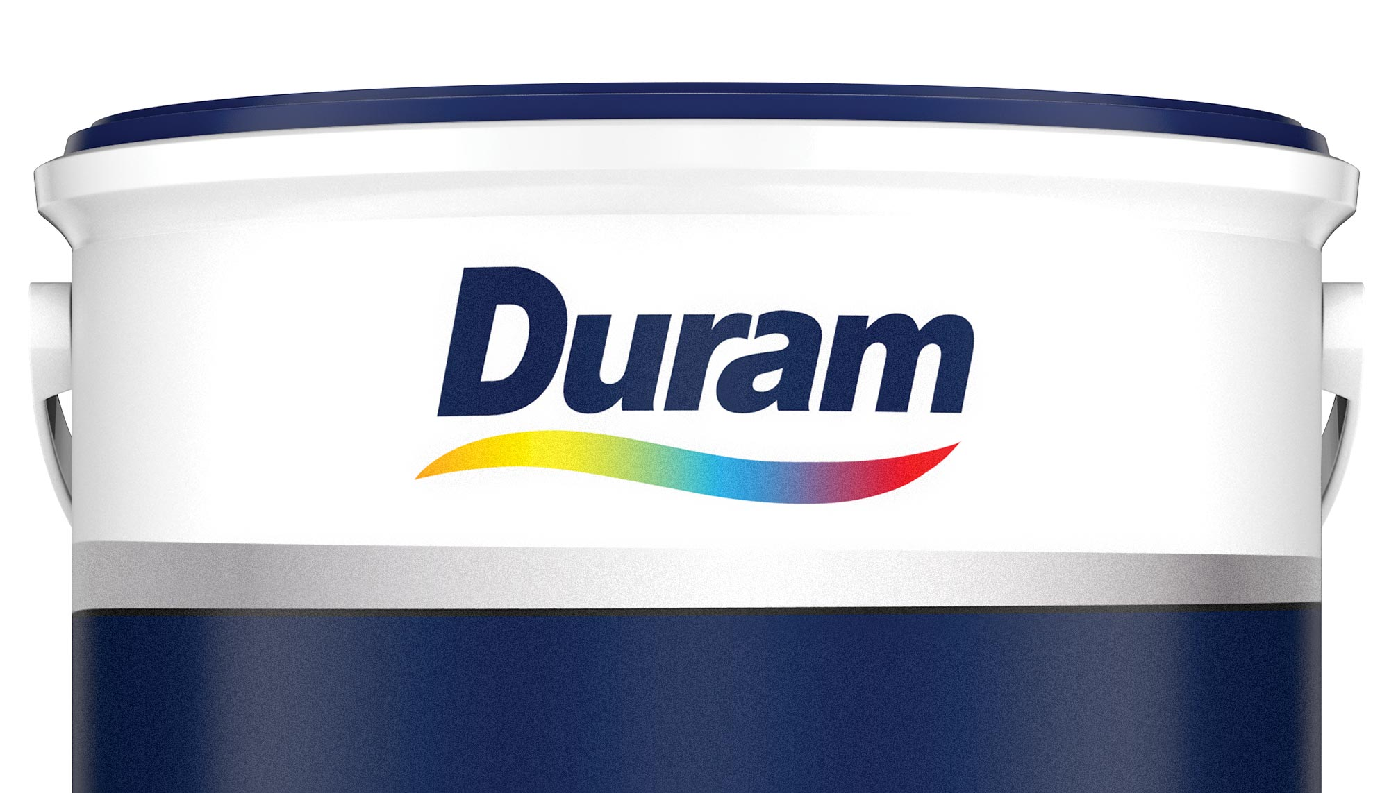 Close up of Duram logo on packaging