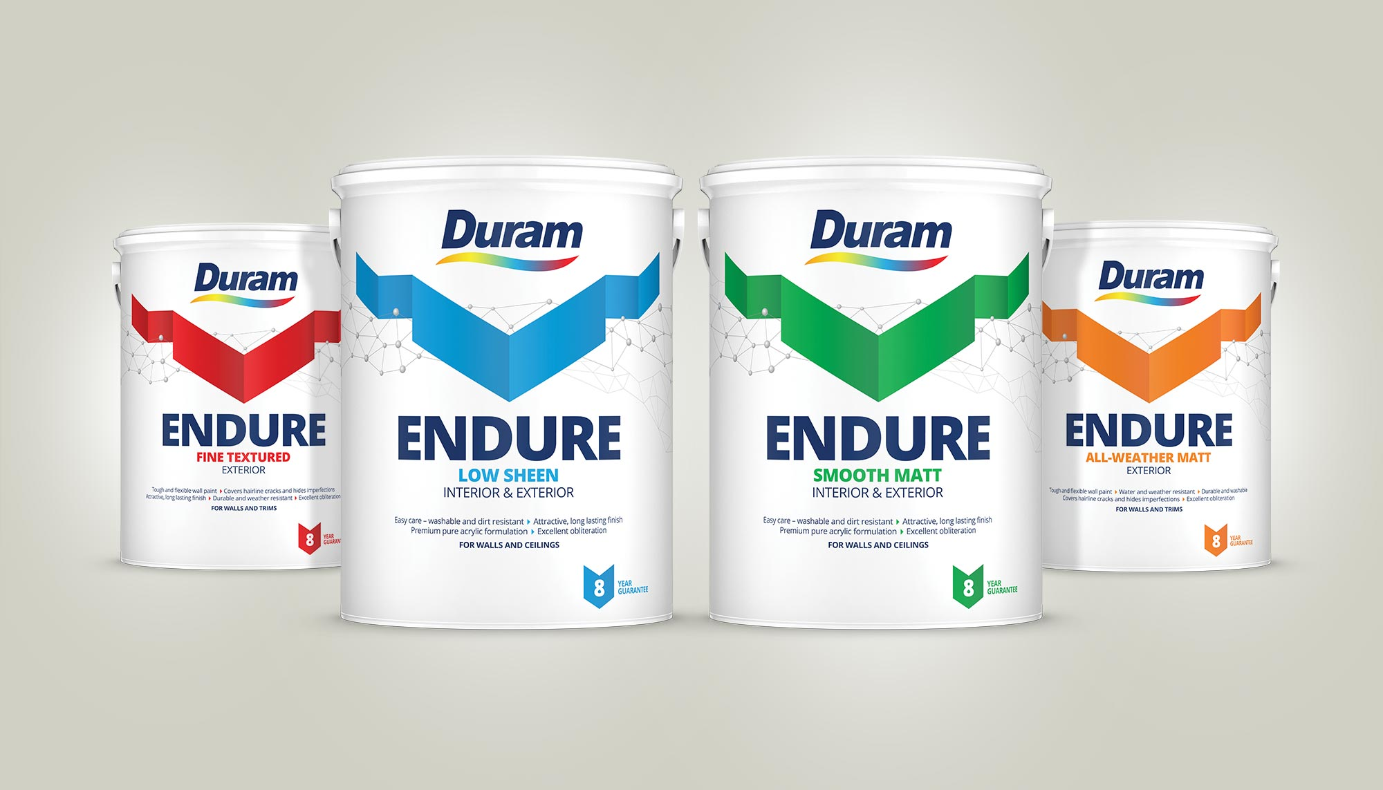 Endure Group Photo, Pack Design, Identity Design